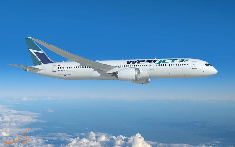 معرفی شرکت هواپیمایی وست جت
