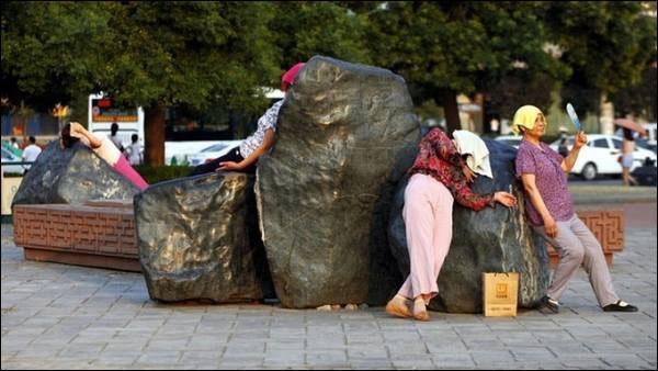 چین ، حرارت درمانی با سنگ