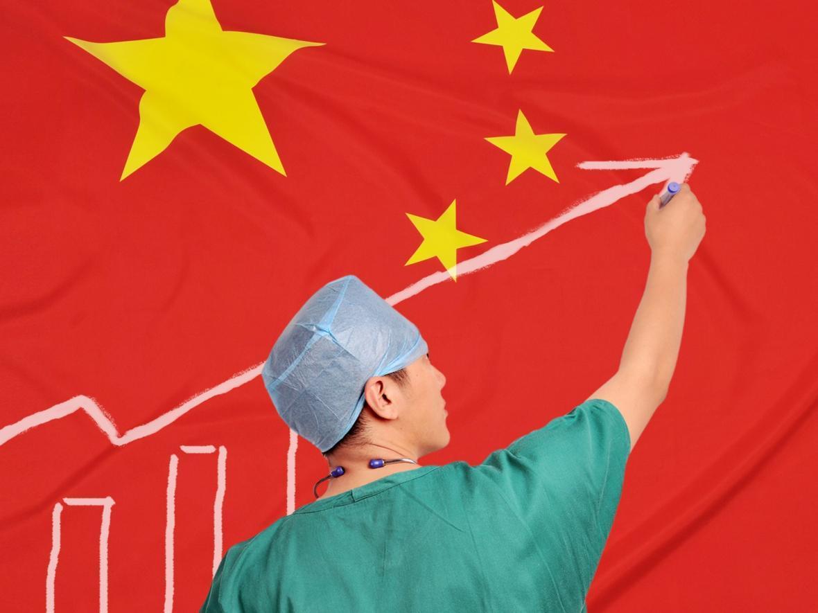 چین ، افزایش شمار تخت های بیمارستانی و کارکنان پزشکی