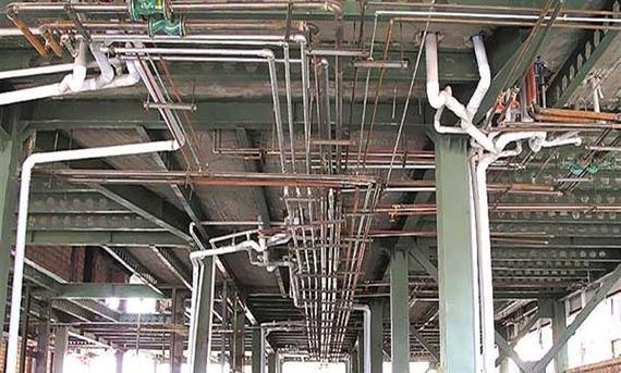 بازسازی لوله کشی ساختمان