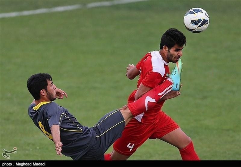 تساوی تیم فوتبال المپیک ایران و چین
