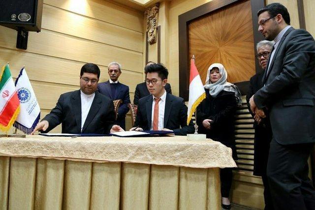 بورس کالای ایران و اندونزی تفاهم همکاری امضا کردند