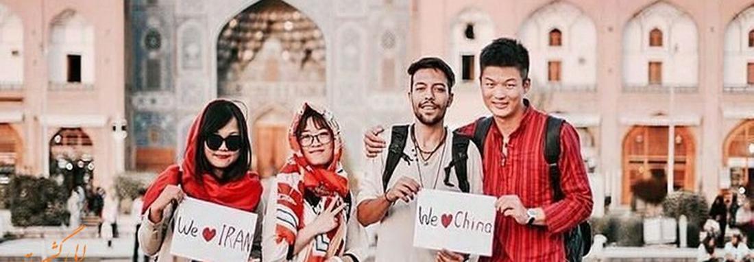 اجازه سفر 21 روزه چینی ها به ایران بدون ویزا ، لغو ویزای چینی ها ابلاغ شد
