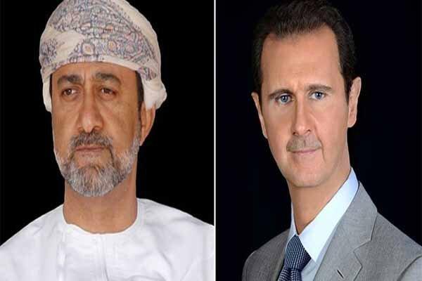 اولین پیغام سلطان جدید عمان به بشار اسد