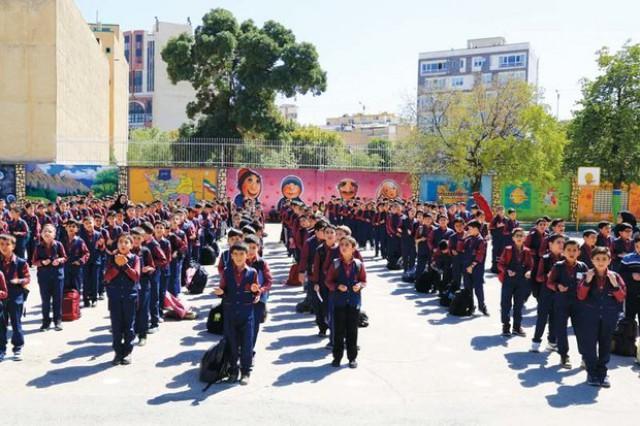 تعطیلی زنگ ورزش تمام مقاطع در مدارس شهر و بخشی از استان تهران