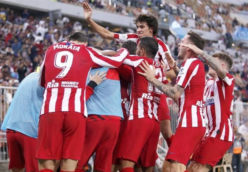 سوپرجام اسپانیا، اتلتیکو با شکست بارسلونا رقیب رئال مادرید در فینال شد