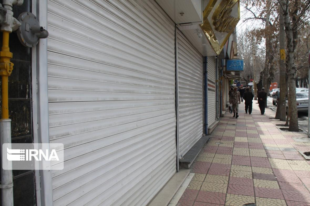 خبرنگاران بازارهای شهر ایلام تعطیل شد