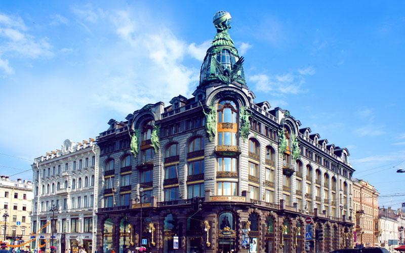 نوسکی پراسکت، معروف ترین خیابان سنت پترزبورگ