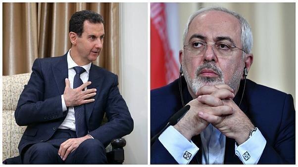 ظریف با بشار اسد ملاقات کرد ، تصاویر متفاوت از دو ملاقات مهم