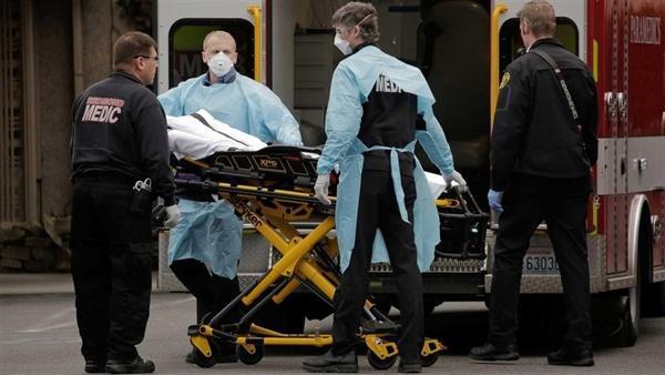 مرگ 1258 نفر در آمریکا بر اثر کرونا در 24 ساعت گذشته