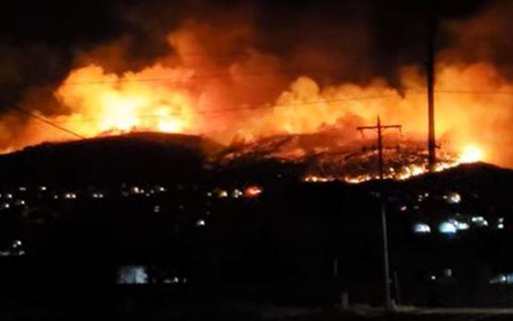 آتش سوزی گسترده در ایالت یوتا، ده ها خانه تخلیه شد