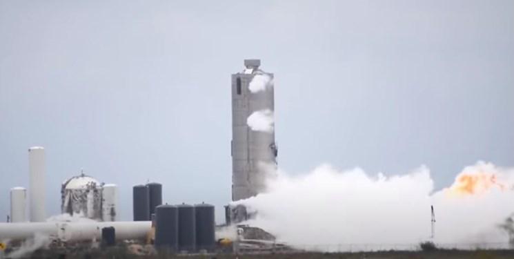 فیلم، شکست آزمایش موتور موشک ماهواره بر در آمریکا