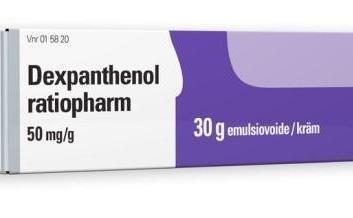 دکسپانتنول؛ موارد مصرف، عوارض جانبی