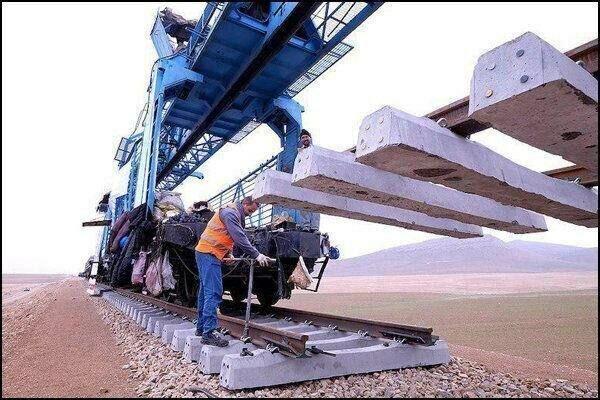 46 کیلومتر از خط آهن بافق به زرند و کرمان بازسازی می گردد