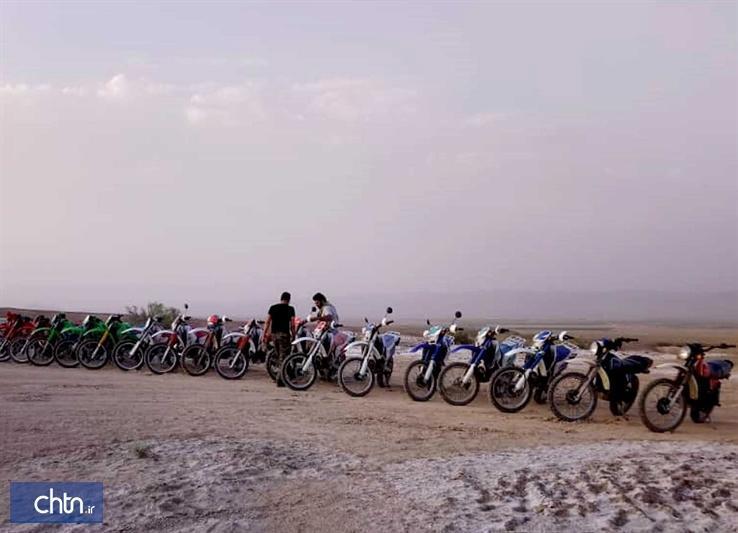 برگزاری کمپ آموزشی مسیریابی گردشگری ویژه موتورسواران بهابادی