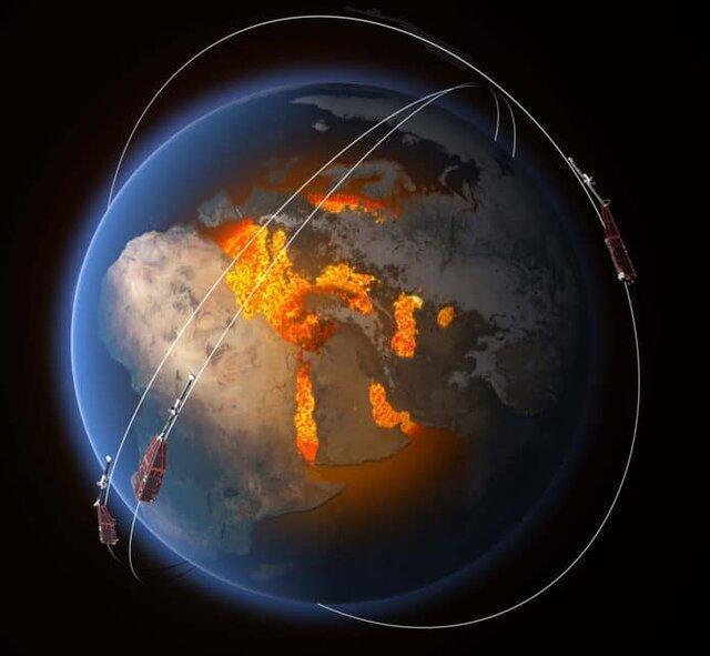 میدان مغناطیسی زمین ضعیف شده است؟