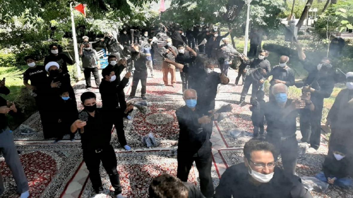 عزاداری ظهر تاسوعای حسینی در شهرستان های خراسان رضوی