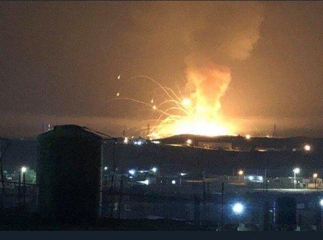 خبرنگاران انفجار مهیب در نزدیکی شهر زرقاء اردن