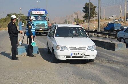 اعمال قانون 213 خودرو در طرح ممنوعیت تردد در کرمانشاه
