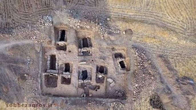 کشف عظیم ترین گورستان باستانی در دنا