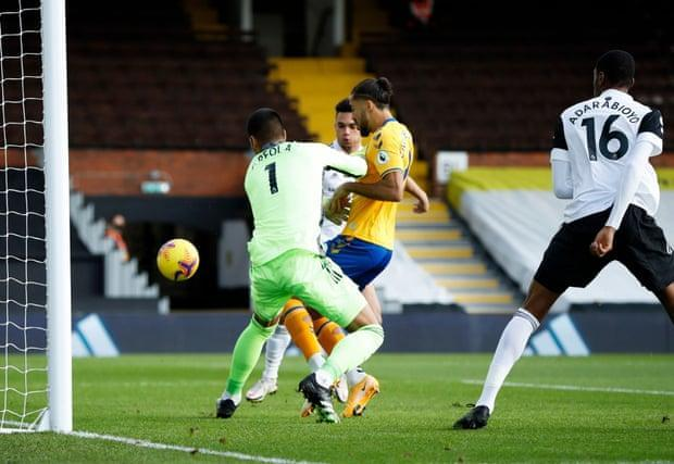 کالورت لوین، سریع ترین گل این فصل لیگ برتر را زد