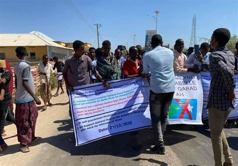 متهم شدن صلحبانان اتحادیه آفریقا به استفاده از سلاح علیه تظاهرات کنندگان در سومالی