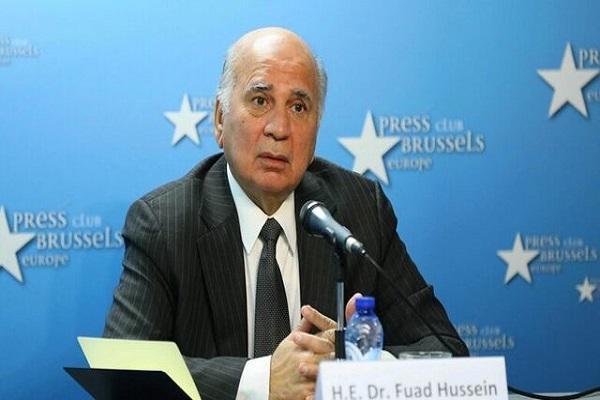 پاسخ وزیر خارجه عراق به سوال هدفمند رسانه بحرینی درباره ایران