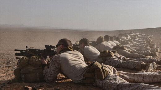 رزمایش نظامی مشترک بین آمریکا و عربستان