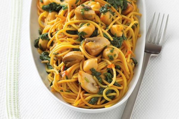 طرز تهیه اسپاگتی اسپایسی