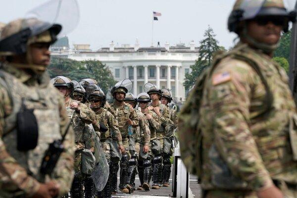 سوابق نیروهای گارد ملی مستقر در واشنگتن آنالیز می گردد