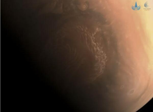مدارگرد چینی از مریخ عکس فرستاد