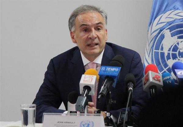 معین نماینده ویژه سازمان ملل همزمان با نشست های صلح افغانستان