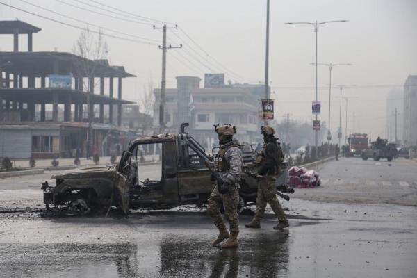 انفجار خودروی بمب گذاری شده در ولایت مرکزی افغانستان