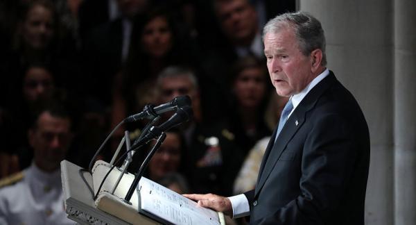 جورج بوش حزب جمهوری خواه را به باد انتقاد گرفت