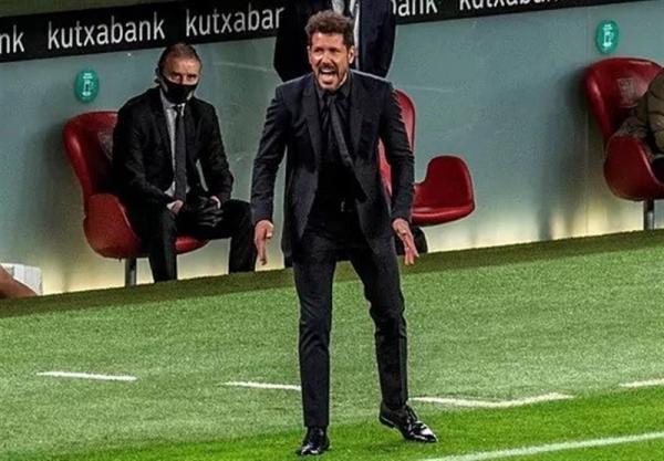 سیمئونه: بازی مان با بارسلونا همانگونه بود که تصورش را می کردیم، تا انتهای فصل رقابت می کنیم