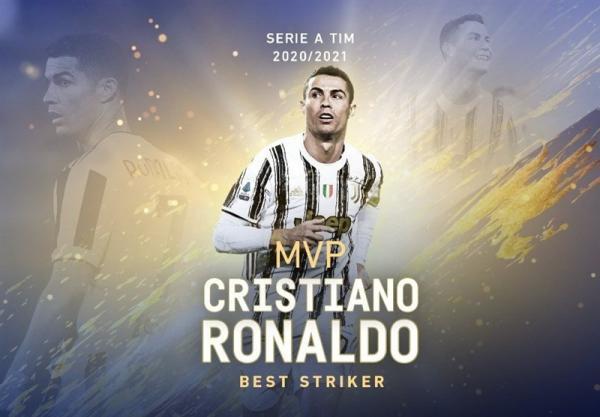 معرفی ارزشمندترین بازیکنان فصل اخیر سری A، رونالدو بهترین مهاجم شد