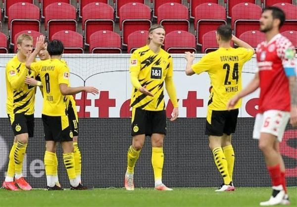بوندس لیگا، دورتموند با پیروزی خارج از خانه سهمیه لیگ قهرمانان گرفت
