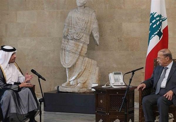 جزئیات دیدارهای وزیر خارجه قطر با مقامات ارشد لبنانی در بیروت