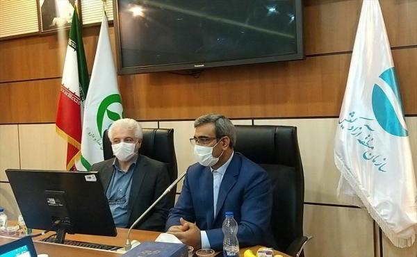مراسم امضای تفاهم نامه احداث شهرک دارویی و تجهیزات پزشکی در منطقه آزاد کیش برگزار گردید
