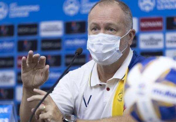 سرمربی النصر: شاید تراکتور مشکلاتی دارد اما فوتبال همین است، احترام زیادی برای این تیم قائلیم