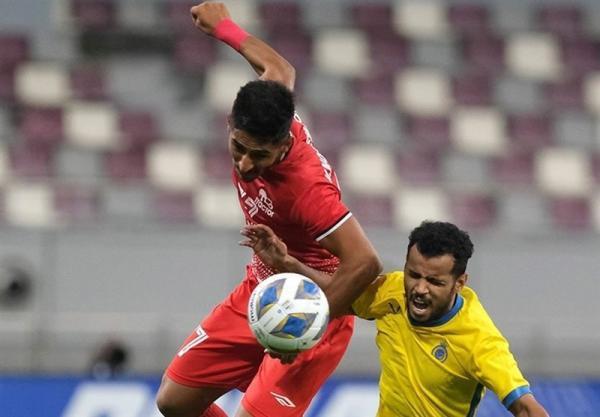 لیگ قهرمانان آسیا، شکست تراکتور مقابل النصر در نیمه اول